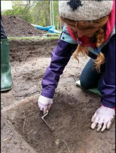 Kathryn Digging